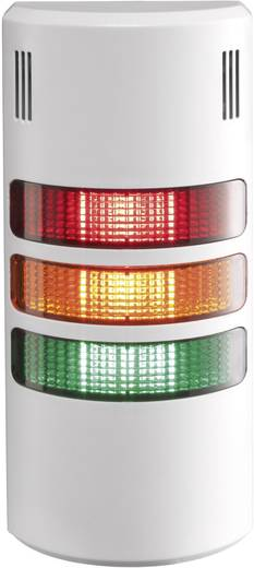 Auer Signalgeräte HZ00216355 Signaalzuilelement LED Rood, Oranje, Groen Continu geluid, Pulstoom, Continu licht 24 V/DC,