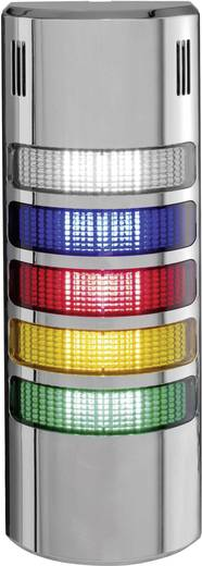 Auer Signalgeräte HZ54216515 Signaalzuilelement LED Blauw, Helder, Rood, Oranje, Groen Continu geluid, Pulstoom, Continu
