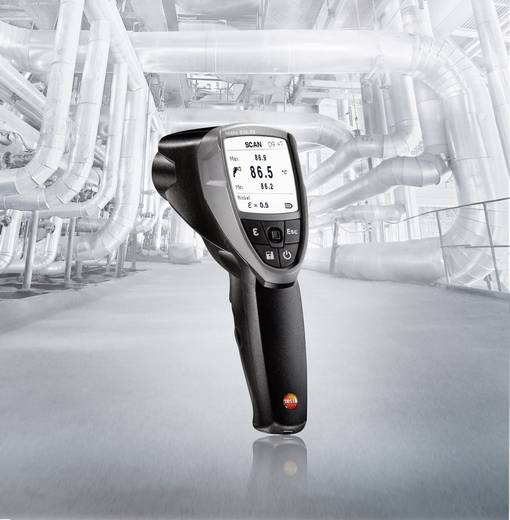 Infrarood-thermometer testo 835-T1 Optiek (thermometer) 50:1 -30 tot +650 °C Contactmeting