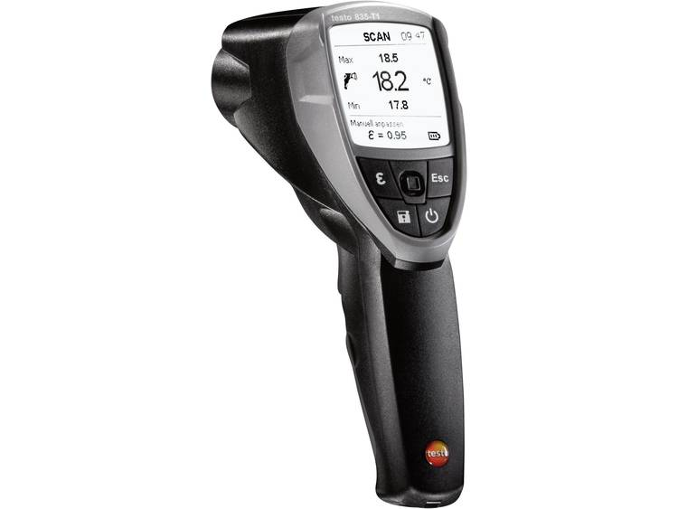 testo 835-T1 Infrarood-thermometer Optiek (thermometer) 50:1 -30 tot 650 °C Contactmeting