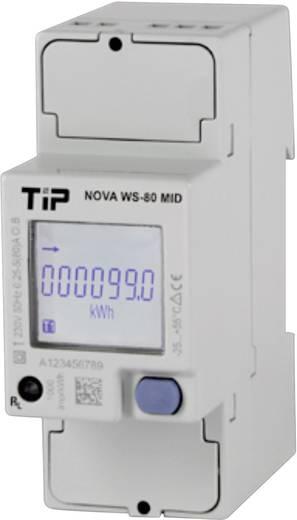 TIP 1-fasen energieteller 80 A NOVA WS-80 MID 230 V/AC