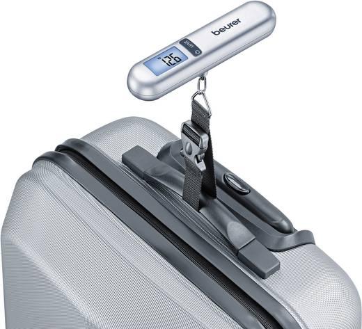 Beurer Kofferweegschaal Weegbereik (max.) 40 kg Resolutie 10 g Zilver
