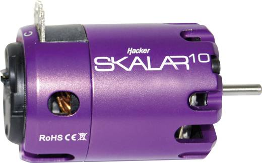 Hacker Skalar 10 Brushless elektromotor voor auto's kV (rpm/volt): 1750 Aantal windingen (turns): 21.5