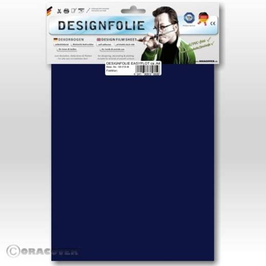 Oracover Easyplot 50-052-B Designfolie (l x b) 300 mm x 208 mm Donkerblauw
