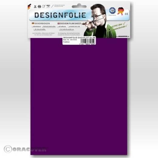 Oracover Easyplot 50-015-B Designfolie (l x b) 300 mm x 208 mm Violet (fluorescerend)
