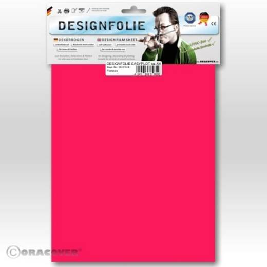 Oracover Easyplot 50-025-B Designfolie (l x b) 300 mm x 208 cm Roze (fluorescerend)