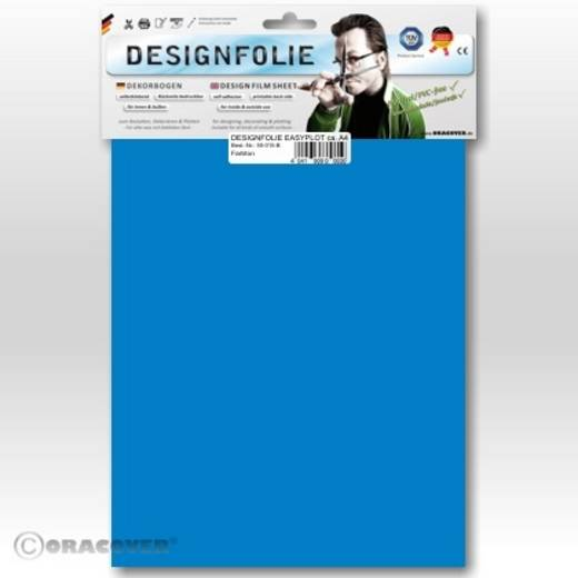 Oracover Easyplot 50-051-B Designfolie (l x b) 300 mm x 208 mm Blauw (fluorescerend)