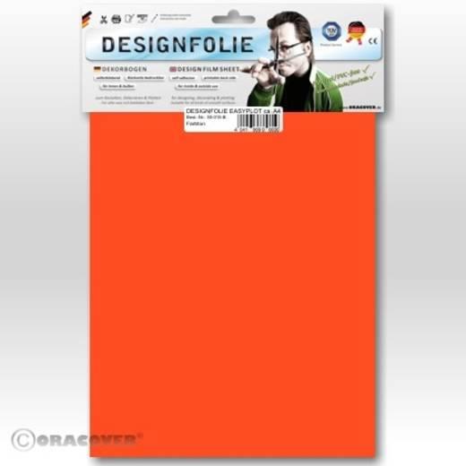 Oracover Easyplot 50-064-B Designfolie (l x b) 300 mm x 208 mm Rood-oranje (fluorescerend)