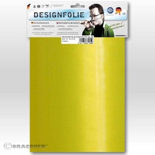 Oracover Easyplot 50-036-B Designfolie (l x b) 300 mm x 208 mm Parelmoer geel