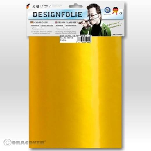 Oracover Easyplot 50-037-B Designfolie (l x b) 300 mm x 208 mm Parelmoer goudgeel