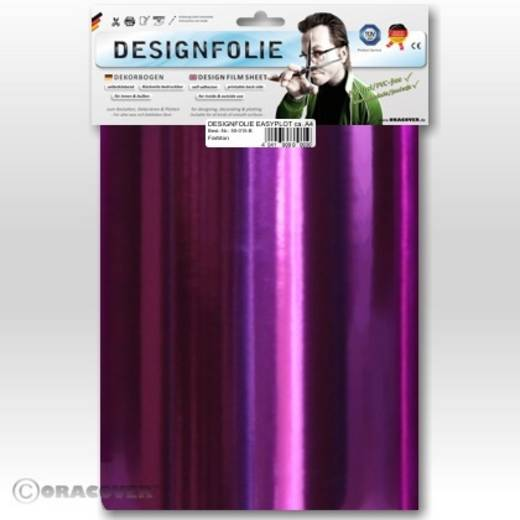 Oracover Easyplot 50-096-B Designfolie (l x b) 300 mm x 208 mm Chroom-paars