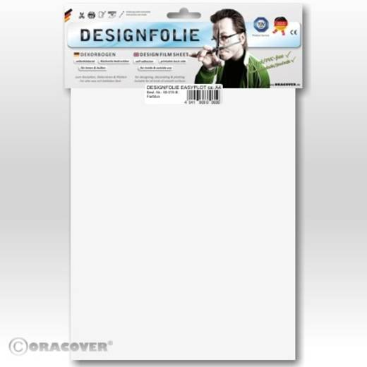 Oracover Easyplot 60-010-B Designfolie (l x b) 300 mm x 208 mm Schaal-wit