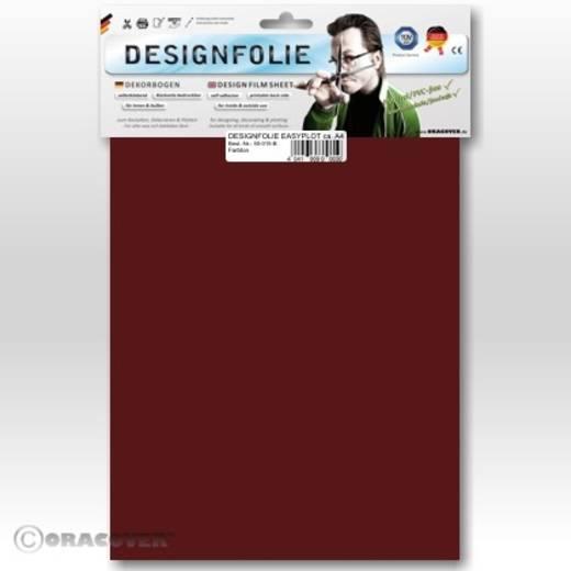 Oracover Easyplot 60-020-B Designfolie (l x b) 300 mm x 208 mm Schaal-rood
