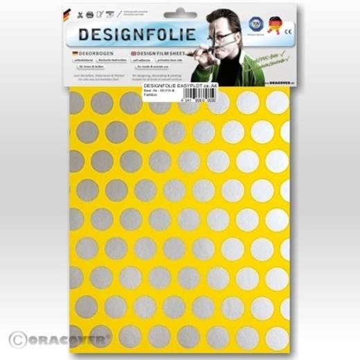Oracover Easyplot Fun 1 90-033-091-B Designfolie (l x b) 300 mm x 208 mm Cadmium-geel-zilver