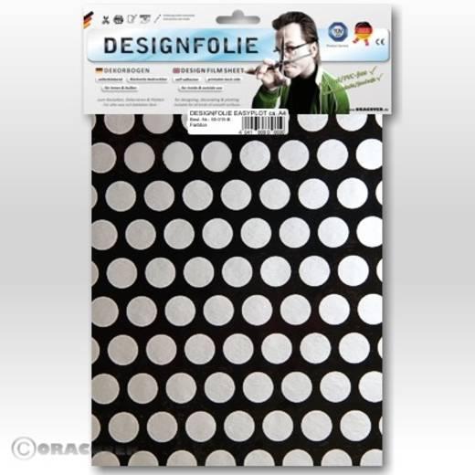 Oracover Easyplot Fun 1 90-071-091-B Designfolie (l x b) 300 mm x 208 mm Zwart-zilver