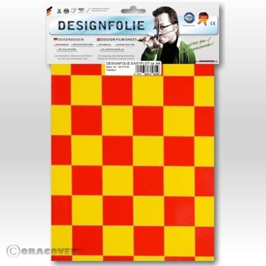 Oracover Easyplot Fun 3 87-033-023-B Designfolie (l x b) 300 mm x 208 cm Geel-rood