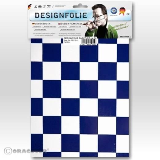 Oracover Easyplot Fun 3 87-010-052-B Designfolie (l x b) 300 mm x 208 mm Wit-donkerblauw