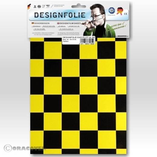Oracover Easyplot Fun 3 87-036-071-B Designfolie (l x b) 300 mm x 208 mm Parelmoer geel-zwart