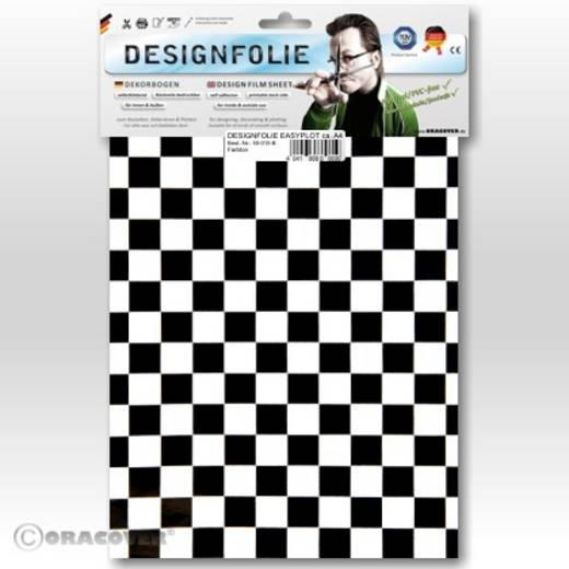Oracover Easyplot Fun 4 95-010-071-B Designfolie (l x b) 300 mm x 208 mm Wit-zwart