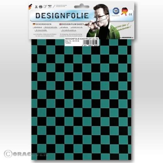 Oracover Easyplot Fun 4 95-017-071-B Designfolie (l x b) 300 mm x 208 mm Turquoise-zwart