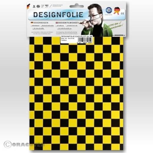 Oracover Easyplot Fun 4 95-036-071-B Designfolie (l x b) 300 mm x 208 mm Parelmoer geel-zwart