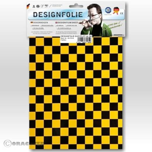 Oracover Easyplot Fun 4 95-037-071-B Designfolie (l x b) 300 mm x 208 cm Parelmoer goudgeel-zwart