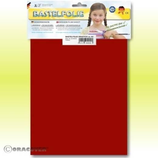 Oracover Orastick 25-023-B Plakfolie (l x b) 300 mm x 208 mm Ferrari-rood