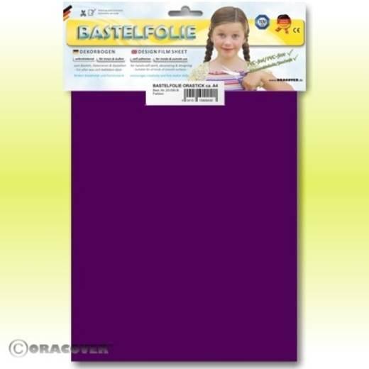 Oracover Orastick 25-015-B Plakfolie (l x b) 300 mm x 208 mm Violet (fluorescerend)
