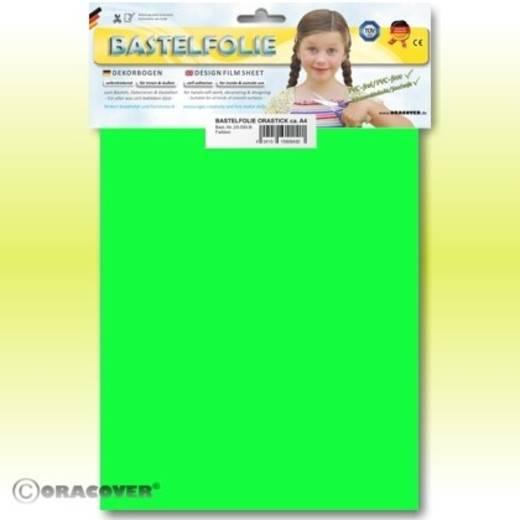 Oracover Orastick 25-041-B Plakfolie (l x b) 300 mm x 208 cm Groen (fluorescerend)