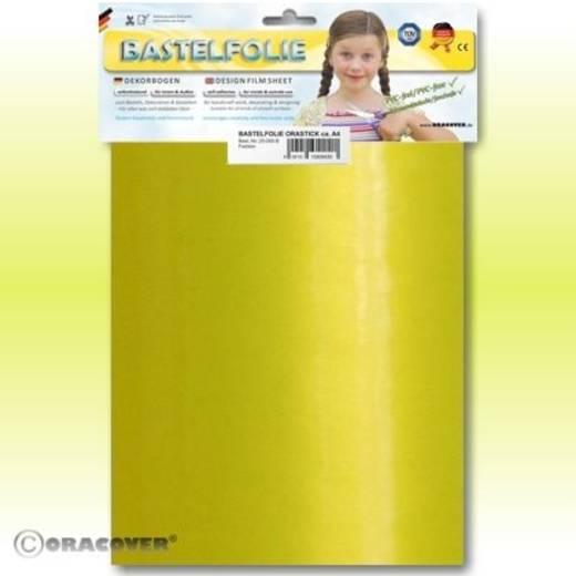 Oracover Orastick 25-036-B Plakfolie (l x b) 300 mm x 208 mm Parelmoer geel