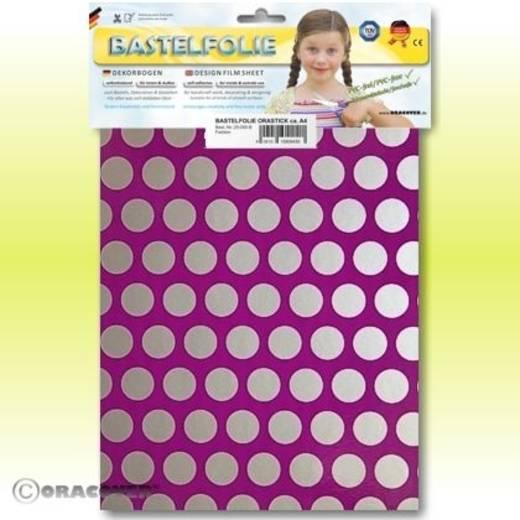 Oracover Orastick Fun 1 45-015-091-B Plakfolie (l x b) 300 mm x 208 mm Violet-zilver (fluorescerend)