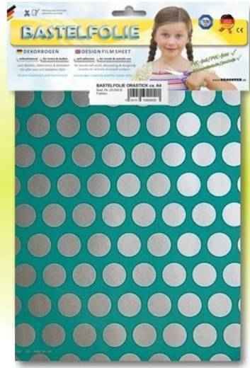 Oracover Orastick Fun 1 45-017-091-B Plakfolie (l x b) 300 mm x 208 mm Turquoise-zilver