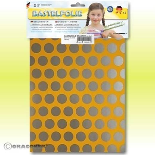 Oracover Orastick Fun 1 45-030-091-B Plakfolie (l x b) 300 mm x 208 mm Cub-geel-zilver