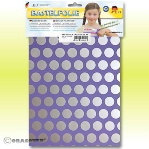 Oracover Orastick Fun 1 45-055-091-B Plakfolie (l x b) 300 mm x 208 mm Lila-zilver