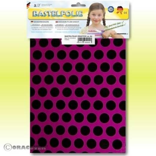 Oracover Orastick Fun 1 45-015-071-B Plakfolie (l x b) 300 mm x 208 cm Violet-zwart (fluorescerend)