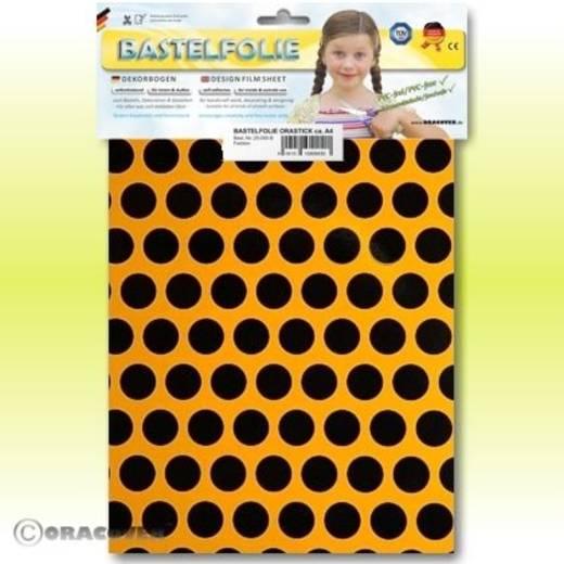Oracover Orastick Fun 1 45-030-071-B Plakfolie (l x b) 300 mm x 208 mm Cub-geel-zwart