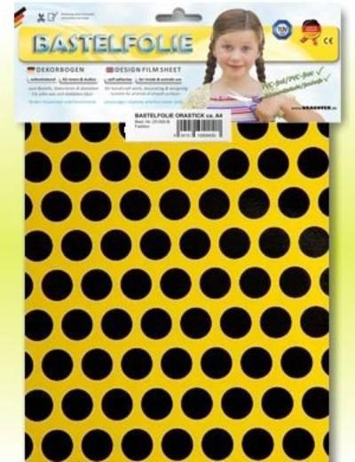 Oracover Orastick Fun 1 45-033-071-B Plakfolie (l x b) 300 mm x 208 mm Cadmium-geel-zwart