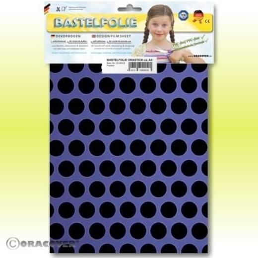 Oracover Orastick Fun 1 45-055-071-B Plakfolie (l x b) 300 mm x 208 cm Lila-zwart