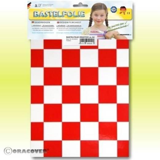 Oracover Orastick Fun 3 47-010-023-B Plakfolie (l x b) 300 mm x 208 cm Wit-rood