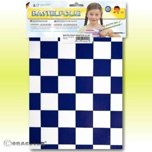 Oracover Orastick Fun 3 47-010-052-B Plakfolie (l x b) 300 mm x 208 mm Wit-donkerblauw