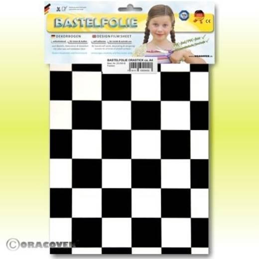 Oracover Orastick Fun 3 47-010-071-B Plakfolie (l x b) 300 mm x 208 mm Wit-zwart