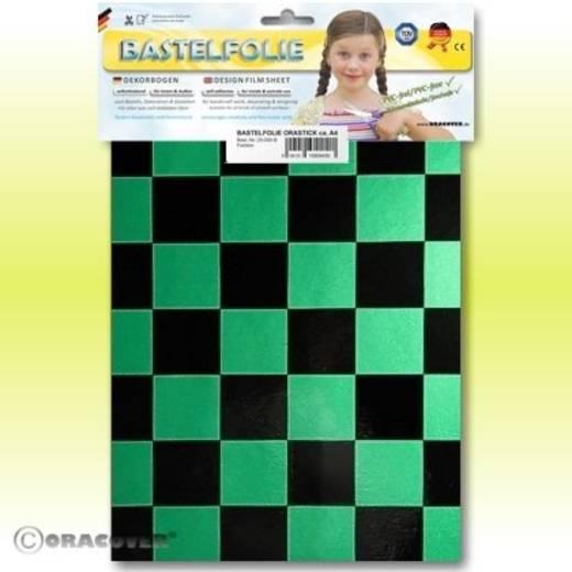 Oracover Orastick Fun 3 47-047-071-B Plakfolie (l x b) 300 mm x 208 cm Parelmoer groen-zwart