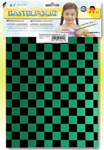 Oracover Orastick Fun 4 48-047-071-B Plakfolie (l x b) 300 mm x 208 mm Parelmoer groen-zwart