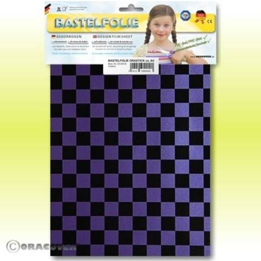 Oracover Orastick Fun 4 48-056-071-B Plakfolie (l x b) 300 mm x 208 cm Parelmoer lila-zwart
