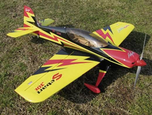 Sebart 30E yellow/black RC vliegtuig ARF 1320 mm