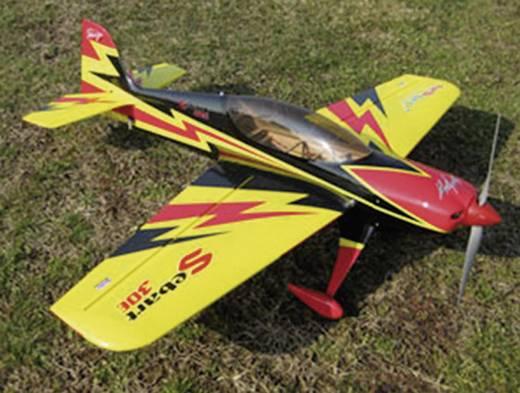 Sebart 50E yellow/black RC vliegtuig ARF 1530 mm