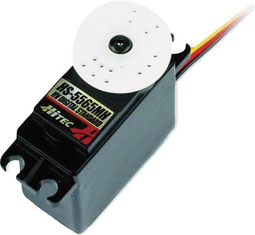 Hitec Standaard servo HS-5565MH Digitale servo Materiaal (aandrijving): Metaal Stekkersysteem: JR