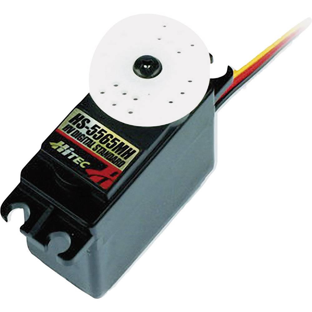Hitec 114565 Standaard servo Dubbel gelagerd Transmissie: Metaal JR