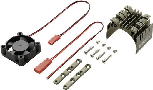 Reely Koelelement voor type 540 motor met ventilator Uitvoering Centraal geplaatste ventilator kleur Titanium