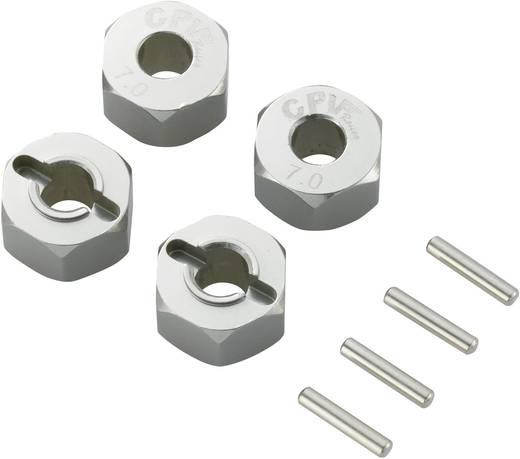 Reely 1:10 aluminium velgmeenemer Titanium (57817T)